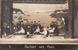 """FOTO AK   FORST Lausitz   SPIELEN """"ÜBERFAHRT NACH ALSEN"""" Nr. 4 - Forst"""