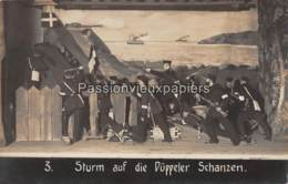 """FOTO AK   FORST Lausitz   SPIELEN """"STURM AUF DIE DÜPPELER SCHANZEN"""" Nr. 3 - Forst"""
