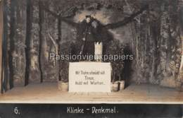 """FOTO AK   FORST Lausitz   SPIELEN """" KLINKE DENKMAL"""" Nr. 6 - Forst"""