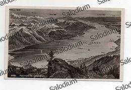 1932 - Lac Leman - Villeneuve - Territel - Montreaux - Clarens - Vevey Cully Lutry Evian - Svizzera