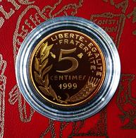 5 Centimes MARIANNE De 1999 En BE... - C. 5 Centimes