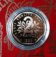 2 Francs SEMEUSE De 1999 En BE... - I. 2 Francs