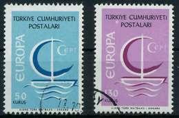 TÜRKEI 1966 Nr 2018-2019 Gestempelt X9C81CE - 1921-... Republik