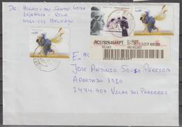 POSTAL CIRCULADA EM PORTUGAL - 1910-... Republic