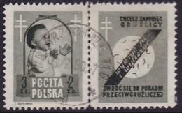 POLAND 1948 Anti-TB Fi 485 Pw3 Used - Used Stamps