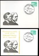 DDR PP18 D2/036 Privat-Postkarte FARBAUSFALL OCKER Wittenberg Sost. 1986 - [6] Oost-Duitsland