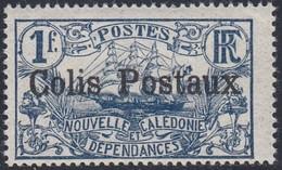 New Caledonia, Scott #Q2, Mint Never Hinged, Ship Overprinted, Issued 1926 - New Caledonia