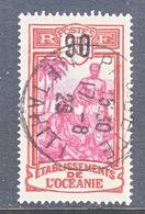 FRENCH  OCEANIA   63   (o) - Oceania (1892-1958)