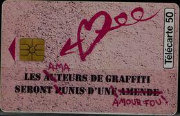 FRANCE 1995 PHONECARD PERFUME AMOUR FOU USED VF!! - Parfum