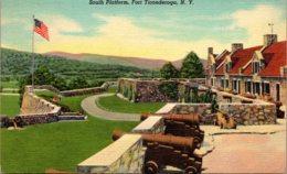 New York Fort Ticonderoga South Platform 1939 Curteicch - NY - New York