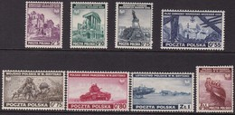 POLAND 1941 Exile In London Fi A338-H338 Mint Hinged - 1939-44: II Guerra Mondiale