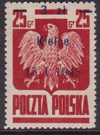 POLAND 1945 Liberated Cities Fi 353 Mint Never Hinged - Ungebraucht