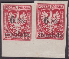 POLAND 1921 Postage Due Fi D33 Mint (broken P Of Doplata) - Impuestos