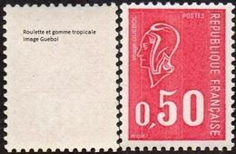 France Marianne De Béquet N° 1664 D ** Variété 3 Bandes De Phosphore Et Gomme Tropicale - 1971-76 Marianne De Béquet