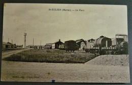 51 Marne - St. Saint Eulien - Le Parc - Gare Train Wagon De Marchandise - Autres Communes