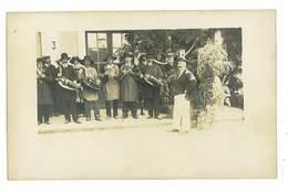 CARTE PHOTO 36 SAINT-GAULTIER KERMESSE 1923 Titre Ecrit Au Dos - Sonstige Gemeinden