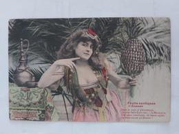 Fruits Exotiques L'Année (djembé Tunisie) Le 15 07 1907 - Femmes