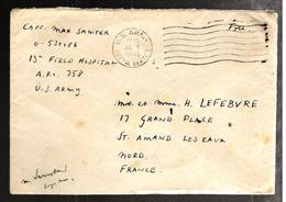 30018 - Origine FIELD  HOSPITAL SAARBOURG - WW II