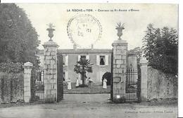 LA ROCHE SUR YON  CHATEAU DE SAINT ANDRE  D ORNAY  PERSONNAGES .DEPT 85 - La Roche Sur Yon
