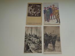 Beau Lot De 18 Cartes Postales De Belgique  Guerre 1914 - 1918 Soldat     Mooi Lot 18 Postk. België Leger Oorlog Soldaat - Cartes Postales