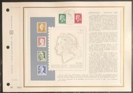 France - Document Philatélique - FDC - Premier Jour - YT N° 1611 Et 1643 - Marianne - 1969 - 1960-1969