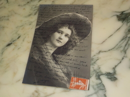 CARTE POSTALE FEMME ROMANTIQUE 1912 - Postcards