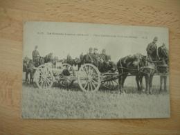 Guerre 14.18 Piece Artillerie 75 Et Son Attelage - Guerre 1914-18