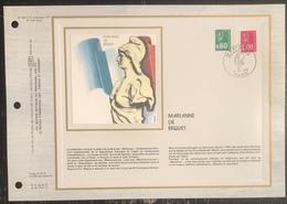 France - Document Philatélique - FDC - Premier Jour - YT N° 1891 Et 1892 - Marianne - 1976 - 1970-1979