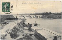 TRILPORT : PONT DU CHEMIN DE FER - France