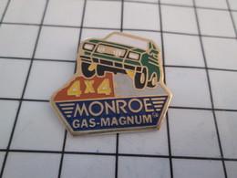 320 Pin's Pins / Beau & Rare / THEME : AUTRES / 4x4 VERT AMORTISSEURS MONROE GAS-MAGNUM - Autres