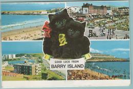 CPM:  BARRY  ISLAND  (pays De Galles  -  Royaume-Uni):  5 Photos De Barry Island          (F562) - Pays De Galles