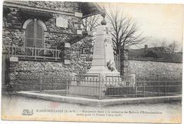 ECHOUBOULAINS : MONUMENT AUX MORTS - Autres Communes