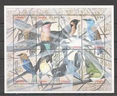 PK139 LIBERIA FAUNA BIRDS 1KB MNH - Other