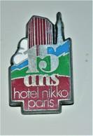 Rare Pin's 15 Ans Hôtel Nikko Paris  Arthus Bertrand - Arthus Bertrand