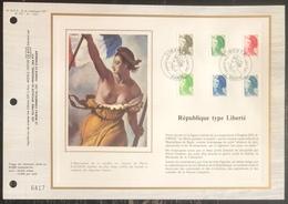France - Document Philatélique - FDC - Premier Jour - YT N° 2185 à 2190 - Marianne - 1982 - FDC