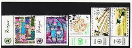 IMO397 VEREINTE NATIONEN UNO WIEN 1983/84 MICHL 36/40 Mit TABS Gestempelt SIEHE ABBILDUNG - Oblitérés