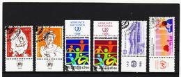 IMO398 VEREINTE NATIONEN UNO WIEN 1984/85 MICHL 43/48 Mit TABS Gestempelt SIEHE ABBILDUNG - Oblitérés