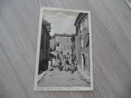 CPA 07 Ardèche Gluiras Rue Du Temple - Autres Communes