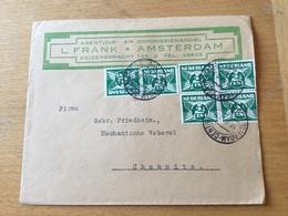 FL3525 Niederlande 1926 Brief Von Amsterdam Nach Chemnitz - 1891-1948 (Wilhelmine)