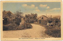 COURTOMER : ENTREE DU CUL DE SAC - Autres Communes