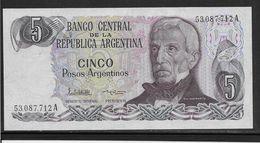 Argentine - 5 Pesos - Pick N° 312 - Neuf - Argentina