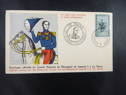 BELG.1957 1021 FDC (de Panne) : Leopold I - 1951-60