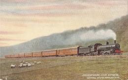 """Johanesburg-Cape Express"" Tuck Oiette Famous Expresses Ser. PC # 9329 - Tuck, Raphael"