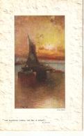 """Prof. Van Hier. Snset Glow"" Tuck Oilette Postcard # 9718 - Tuck, Raphael"