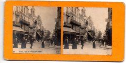 (photo) Vichy (03 Allier)   : Stereophoto  Rue De Nimes Coté Nord (animée) (PPP22202) - Stereoscopic