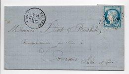 - Lettre VINS & SPIRITUEUX Adolphe BEGUE, MÉLISEY (Haute-Saône) Pour TOURNUS (Saône-et-Loire) 13 MARS 1874 - - 1849-1876: Klassieke Periode