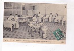 CPA DPT 75 PARIS HOPTAL LARIBOISIERE, , VOIES URINAIRES,SALLE DE PANSEMENTS EXTERENES En 1909! - Health, Hospitals