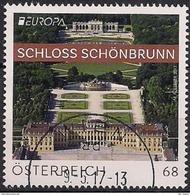 """2017 Österreich Austria Mi. 3340 Used   EUROPA Castles """" Schloss Schönbrunn"""" - Europa-CEPT"""