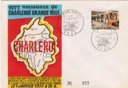 Belgium 1826 FDC  Charleroi - Belgium