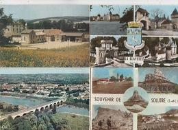 20 / 3 / 403. -  SAÔNE  ET LOIRE  ( 71 )   LOT DE 8  CPM  DIVERSES - TOUTES SCANÉES - Cartes Postales